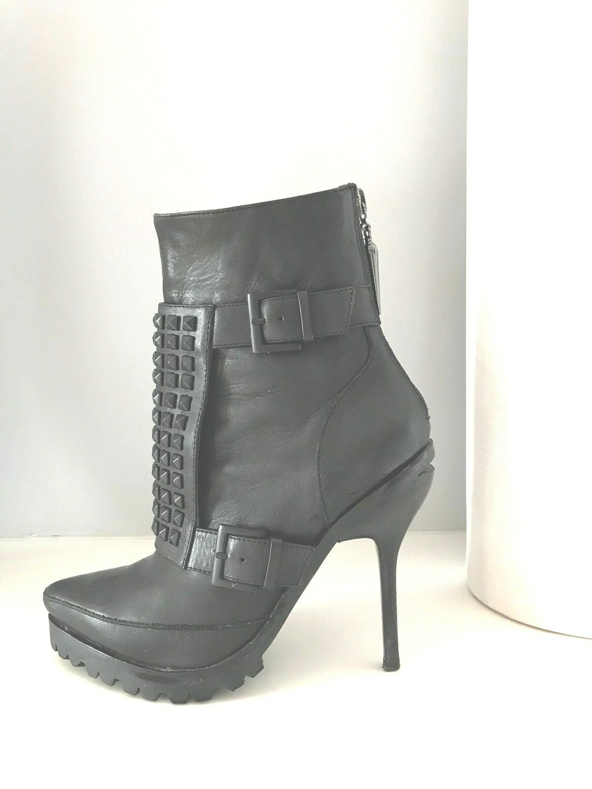 Rock And Republic Studded Lug Boot size 5/35