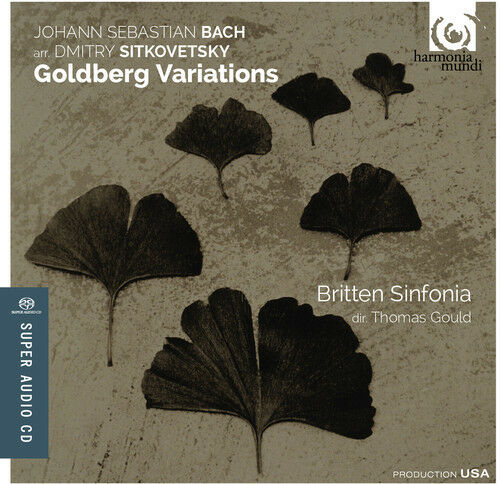 J.S. Bach / Britten Sinfonia / Thomas Gould - Goldberg Variations [New SACD] Hyb