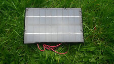 9 VOLT 3 WATT 330MA SOLAR PANEL CHARGER SUITABLE FOR 6V AND 7.2 VOLT  BATTERY