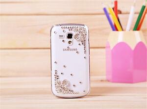 sparkly rhinestone Bling DIY case cover fr Samsung Galaxy Trend Plus S7580 S7582 | eBay