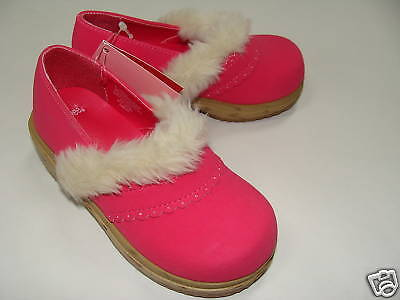 Gymboree NWT GINGERBREAD GIRL Clog Shoes 03 04 5 6 7