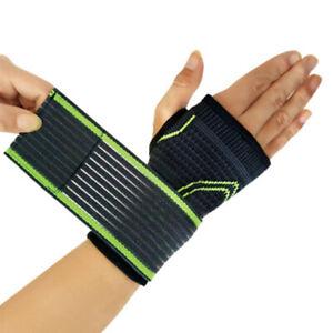 1-Pc-Druck-Elastic-Wrist-Bandage-Support-Strap-Wraps-Handflaeche-Sport-Sicherheit