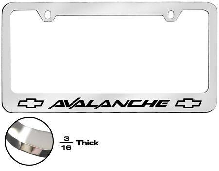 Chevrolet Avalanche License Plate Frame