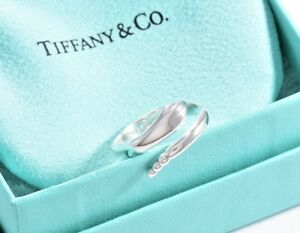 29de3e5268393 Details about Tiffany & Co Sterling Silver Elsa Peretti Snake Ring Size 6  w/ Box & Pouch