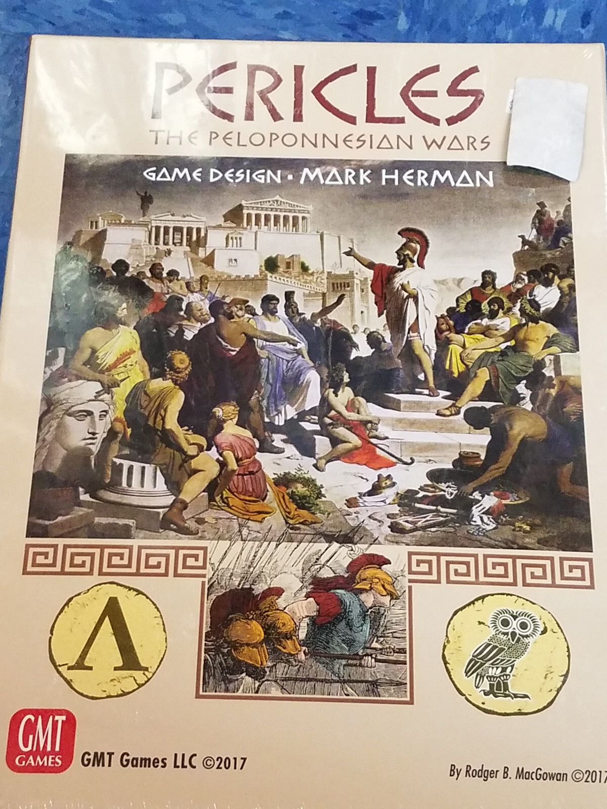Pericles The Peloponnesian Wars - GMT Games War Board Game Nuovo