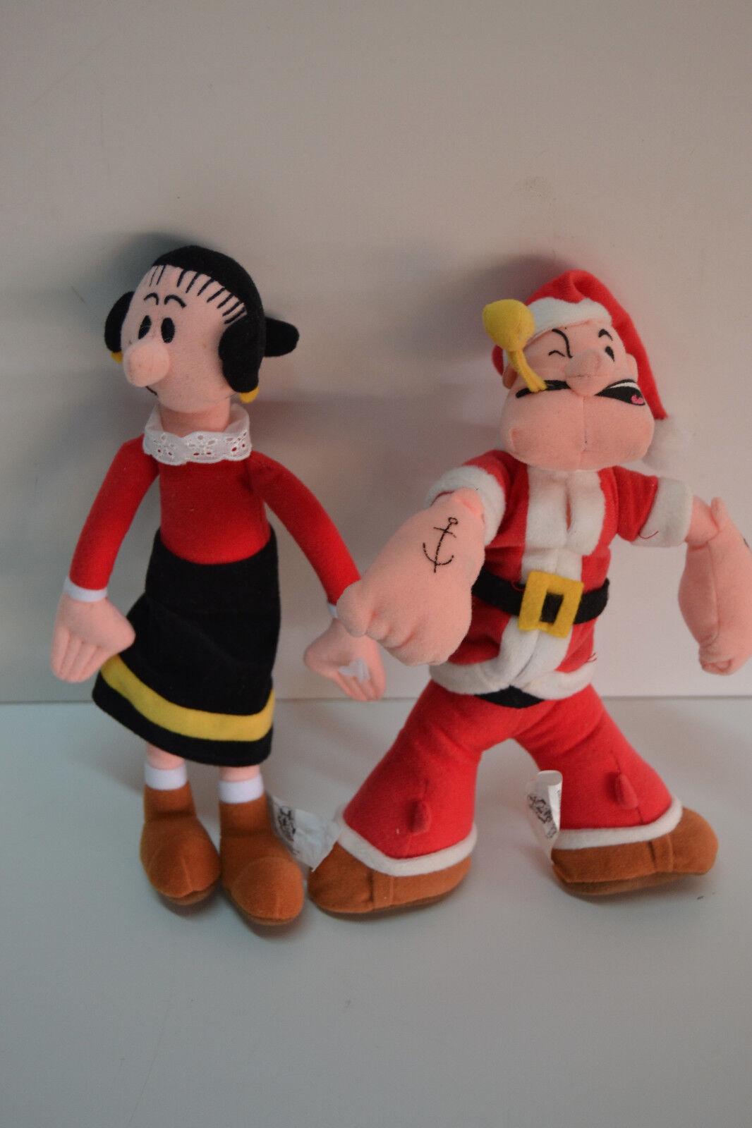 Pareja de peluches Popeye y Olivia - Play by Play