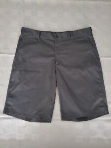 Men-039-s-NIKE-GOLF-Tour-Performance-Dri-Fit-Shorts-Polyester-Spandex-Gray-Size-34