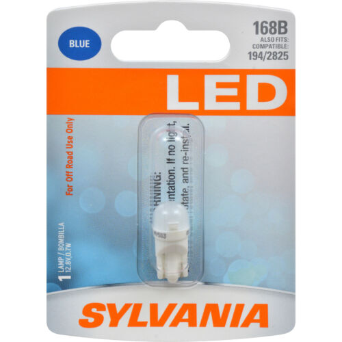 also fits 194 /& 2825 SYLVANIA LED 168 W5W 194 2825 Blue Automotive Bulb