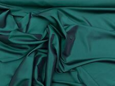BOTTLE GREEN AND BLACK TWO TONE TAFFETA PROM/CURTAIN/ WEDDING BRIDAL FABRIC