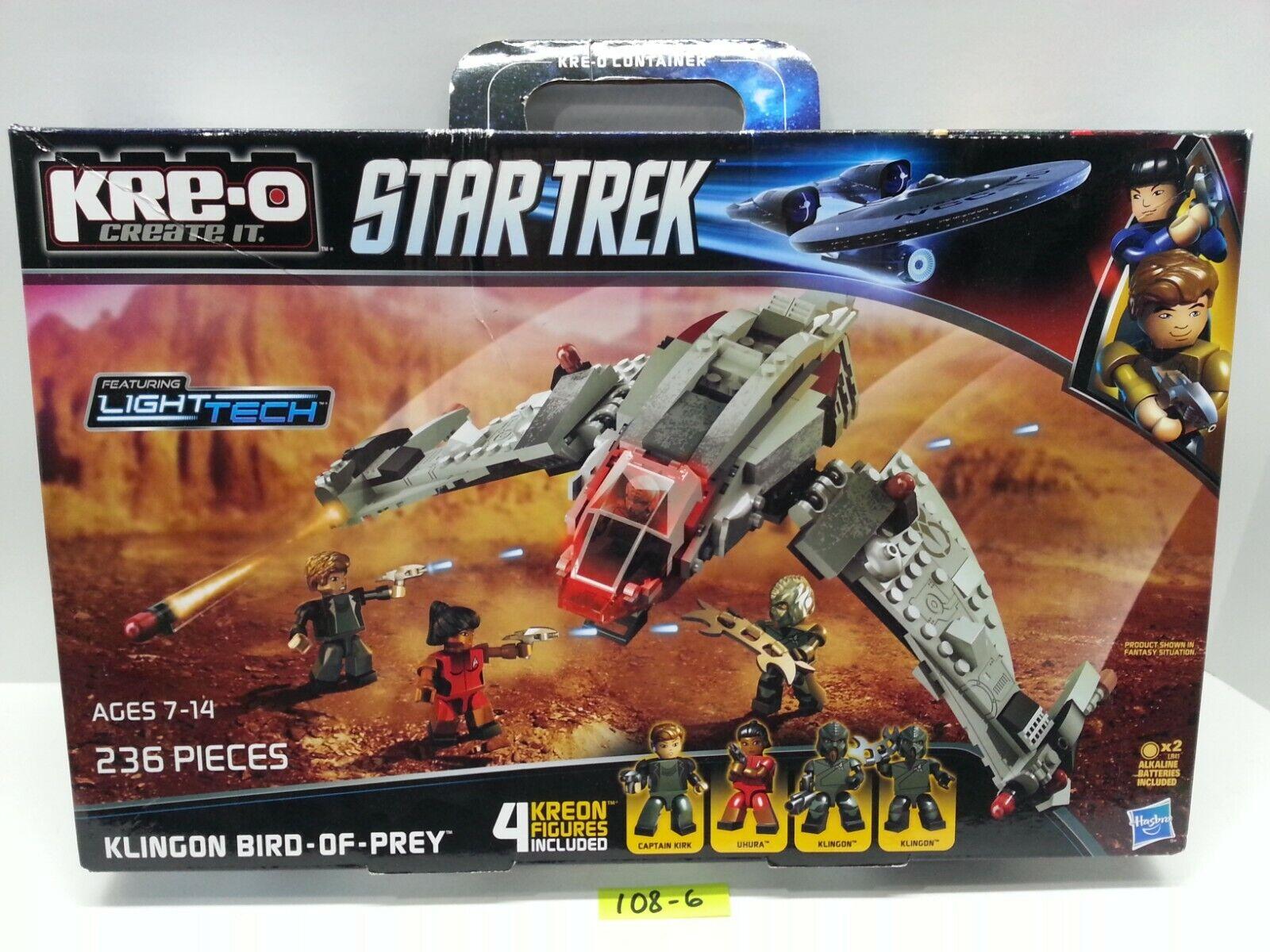 KRE-O Star Trek A3136 Klingon Bird of Prey Vehicle Construction Set NEW & SEALED