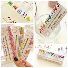 Cool Mini 150 Pages Cute Cartoon Sticker Bookmark Index Sticky Notes Office CIT