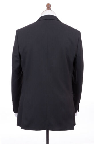Men/'s Charcoal Grey Tailored Fit Suit Burtons