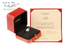 CARTIER TANK FRANCAISE BAGUE RING WEIßGOLD 18K/750 WHITE GOLD Gr.49+ORIGINAL BOX