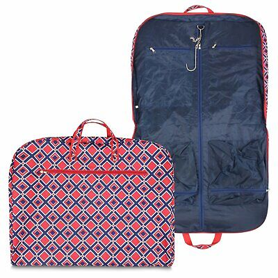 Garment Bag Luggage Travel Cheer Red