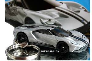 2017-Present Ford GT Hand Painted Decorative Keychain