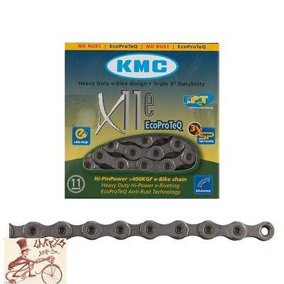 Kmc E-Bike Chain Z1x Ecoproteq 128 Links Gear Hub