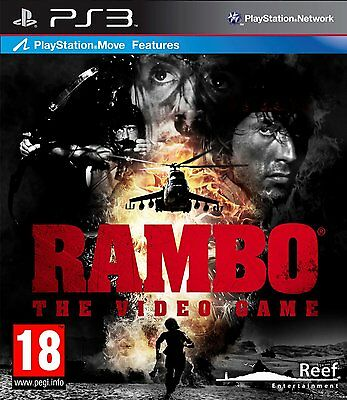 Rambo the Video Game (Move Compatible) PS3 Sony PlayStation 3 PS3 Brand New