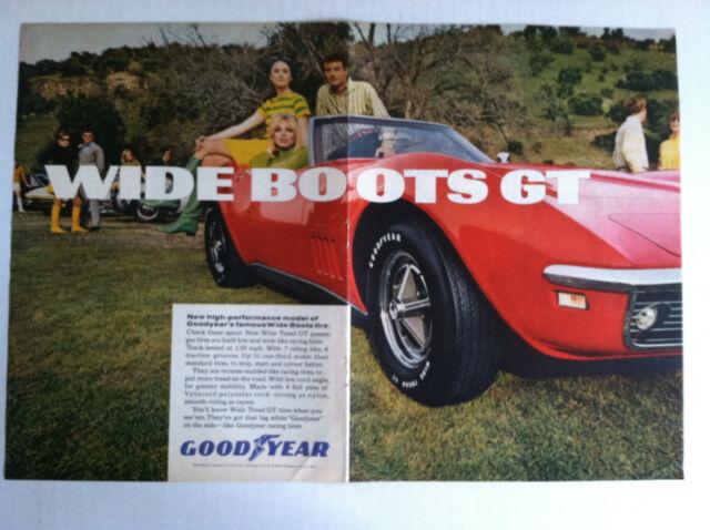 1963 CHEVROLET CORVETTE SPLIT WINDOW GM VETTE  WHITE HARDTOP GM original AD