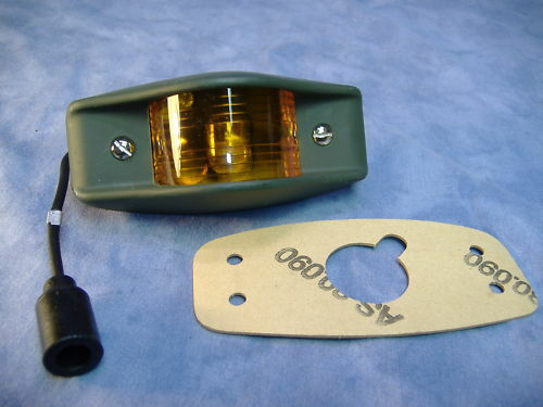MILITARY AMBER MARKER LAMP M35 M35A2 5 TON M813 M818