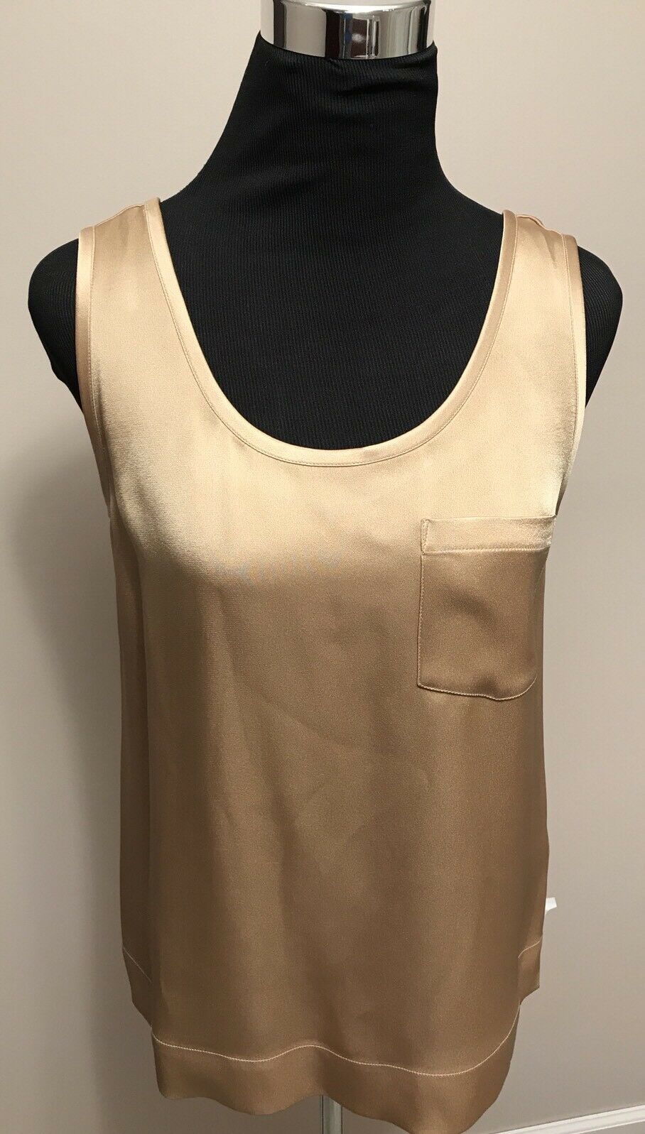650 NWT Ralph Lauren lila Label January Canyon Gold Sleeveless Top sz 6