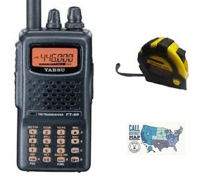 Yaesu-FT-60R-VHF-UHF-5W-Handheld-Radio-with-FREE-Radiowavz-Antenna-Tape