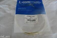 L-Com White 6Ft Cat6 Patch Cable SP24010
