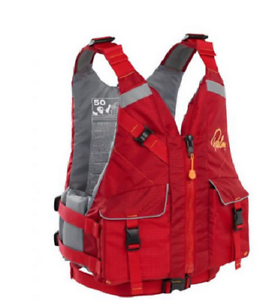 Palm Hydro Schwimmweste rot  Größe XL/XXL  kajak kanu Seekajak SIT on Top Bootsport