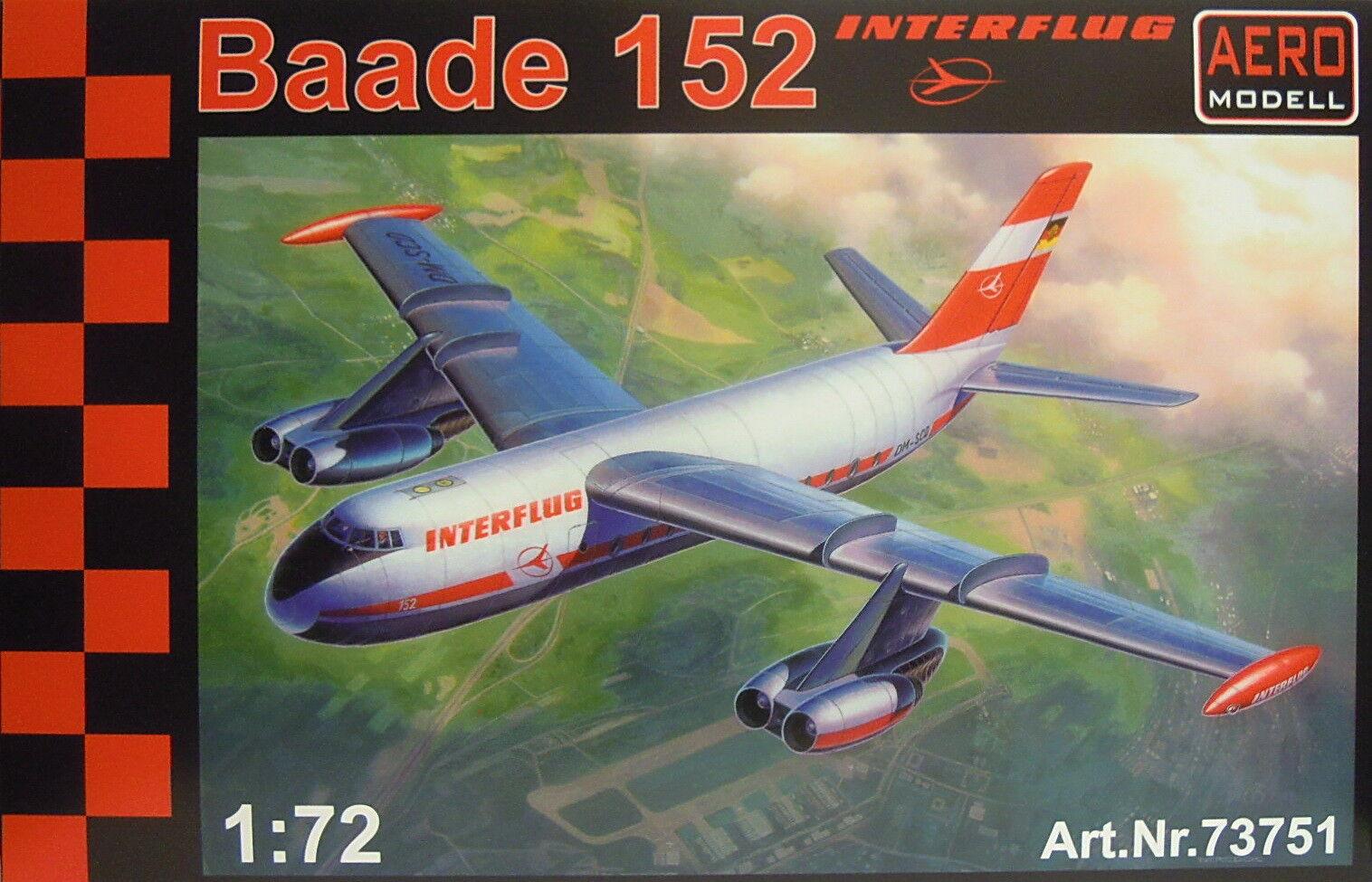 BAADE 152 , Primer Alemán passagierjet, Resina, 1 72 , Modelo Aéreo, NUEVO