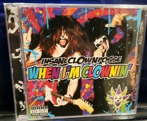 Insane Clown Posse - When I'm Clownin' CD SEALED danny brown twiztid esham icp