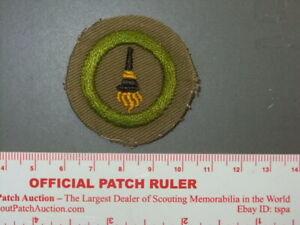 Boy Scout Merit Badge Personal health narrow tan circa /'36-46 4316M