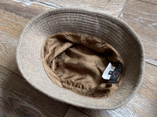 Hermes Motsch Chapeaux Bucket Hat Grey Cashmere N… - image 1