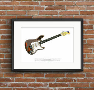 Rory-Gallagher-039-s-Fender-Stratocaster-Guitar-ART-POSTER-A2-size
