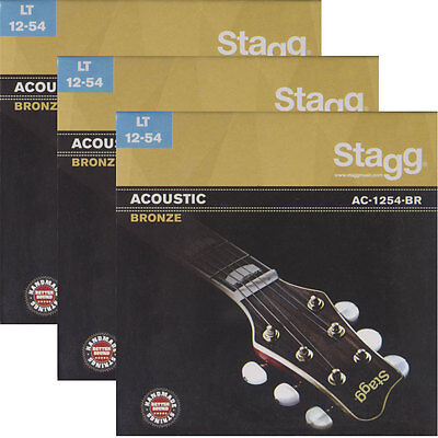 3x Set Ernie Ball 2003 Earthwood Medium Light 80//20 Akustik Gitarre Saiten