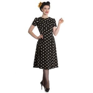 Vintage Rockabilly Polka Swing Madden Pin Hell Dots Hepcat Bunny Up Kleid ZYwA4qg6