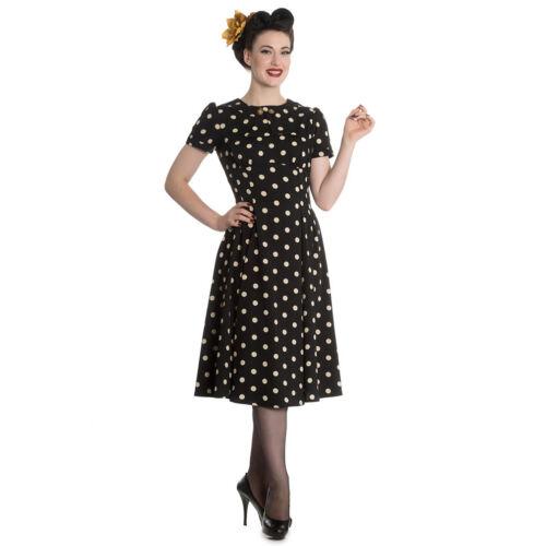 Hell Bunny Rockabilly Pin Up Hepcat Swing Vintage Kleid Madden Polka Dots