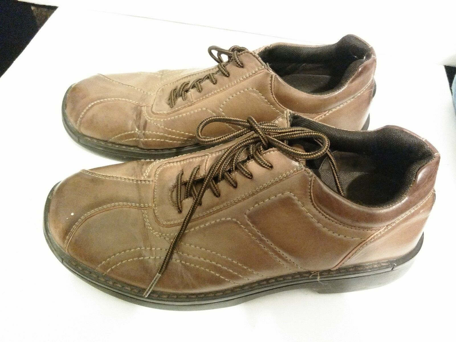 Deer Stags Men's Brown Lace Up Casual Shoes Size 9