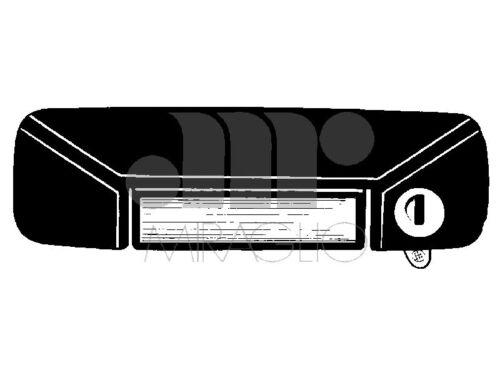 80//196 MANIGLIE PORTE ESTERNE DESTRA CON CHIAVE AUTOBIANCHI 112 MIRAGLIO