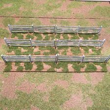 40mm, Painted,Terrain, 5 Rail Fence (white)