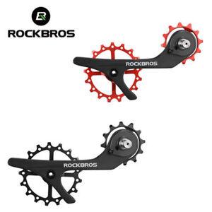 RockBros Shimano 9100 9150 R8000 R805 Carbon Fiber Rear Derailleur Pulley Wheel
