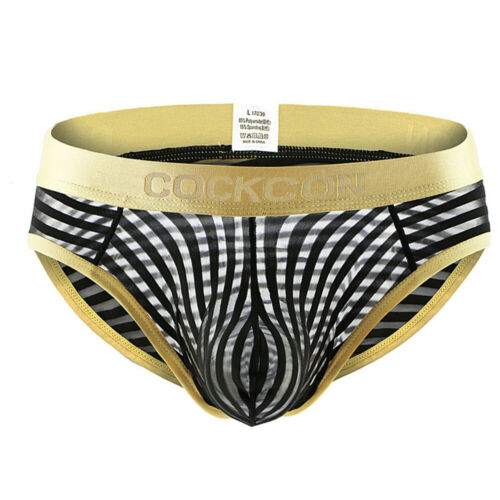 Mens Pump Briefs Bikini Low Waist Breathable Underwear Convex Pouch Underpants
