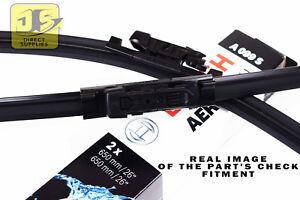 SEAT-Leon-IP1-Nuevo-Aerotwin-Bosch-A099S-Frente-wiper-blades-set
