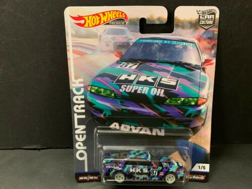 Hot Wheels Nissan Skyline R32 Hks Advan Offen Track Fpy86-956h 1//64