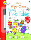 Wipe-Clean Starting Times Tables by Jessica Greenwell (Paperback, 2014)