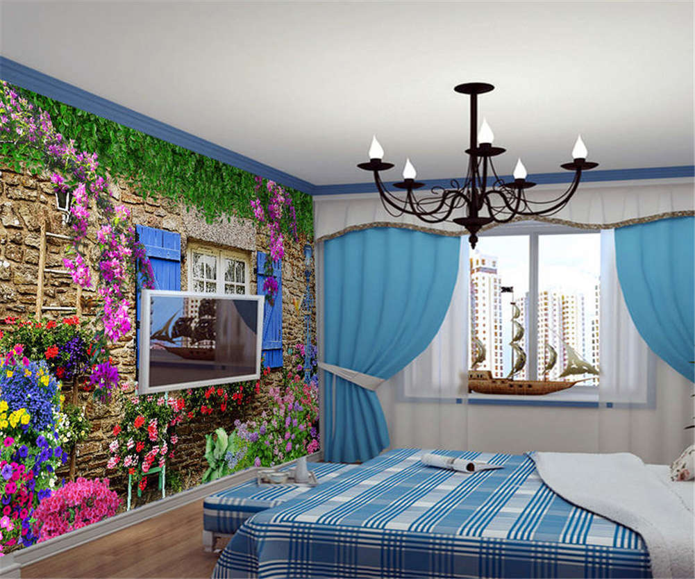 Coherent Big Garden 3D Full Wall Mural Photo Wallpaper Printing Home Kids Decor