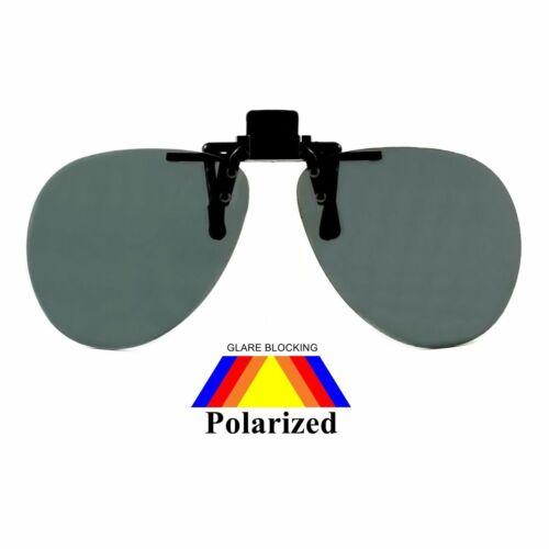 NWT Logan Polarized Clip On Sunglasses