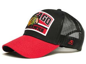 Chicago-Blackhawks-034-Showcase-034-NHL-Trucker-cap-hat