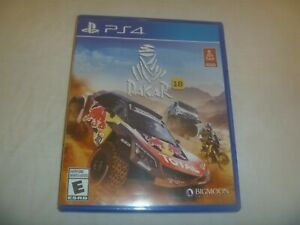 Dakar-18-2018-Sony-Playstation-4-PS4-Complete-Game-With-Case