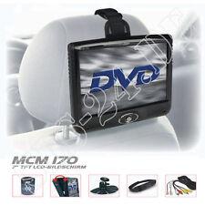 "Caliber KFZ 7"" Zoll TFT LCD portabler Monitor mit 2 x AV-IN Fernbedienung MCM170"