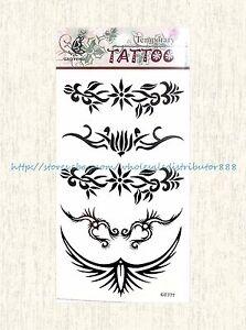 b01c95de3 Image is loading US-SELLER-tramp-stamp-tribal-temporary-tattoo-sticker-