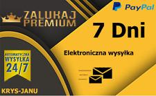 ZALUKAJ TV kod Premium 7 dni ** Automat** NAJSZYBSZA WYSYŁKA